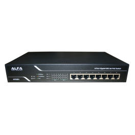 Switch ethernet Gigabit PoE 8 ports APS08G Alfa Network