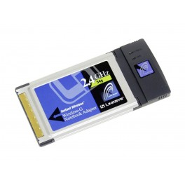 Carte Wifi PCMCIA Linksys WPC54G
