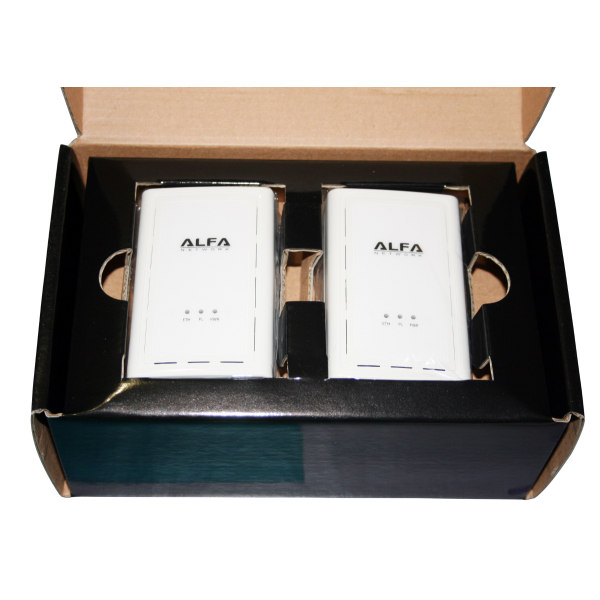 kit cpl alfa network ahpe305 200 mbps. Black Bedroom Furniture Sets. Home Design Ideas