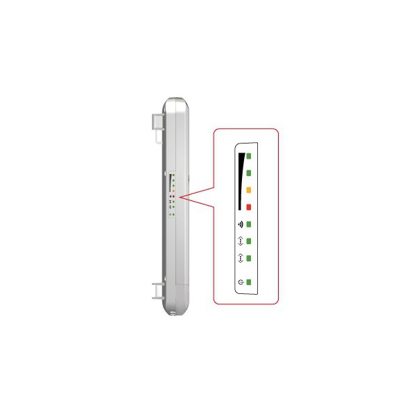 Point d 39 acc s cpe ext rieur highpower n5 alfa network 5 ghz for Point acces wifi exterieur