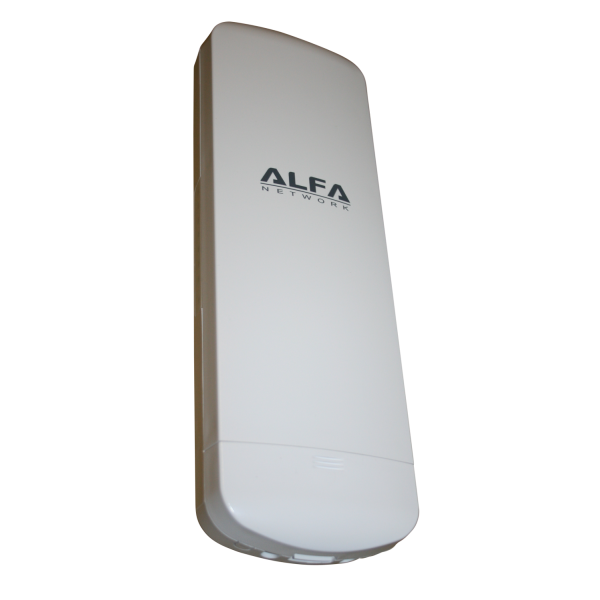 Point d 39 acc s cpe ext rieur n2s alfa network 2 4 ghz for Point d acces wifi exterieur
