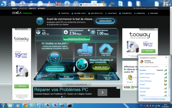 Speedtest 1